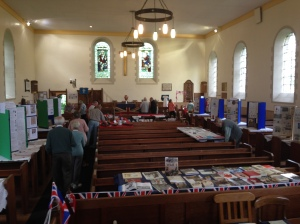 Exhibition in kirk.